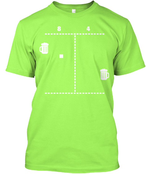 THE BEER PONG Shirt from Arcade-Bros