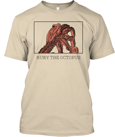 Limited Edition Ruby the Octopus T-Shirt