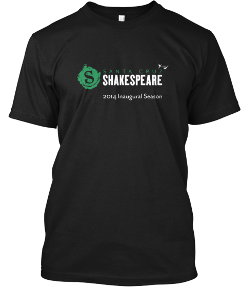 Santa Cruz Shakespeare 2014 Apparel
