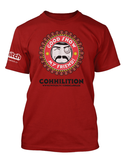 New Cohhilition swag through Twitch!
