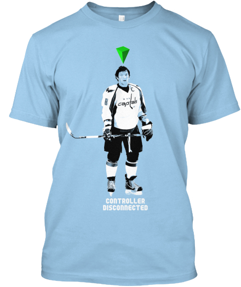"Ovechkin ""Controller Disconnected"" tee"