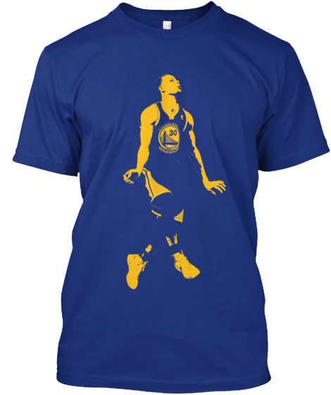 Steph Curry's 54 points night shirt