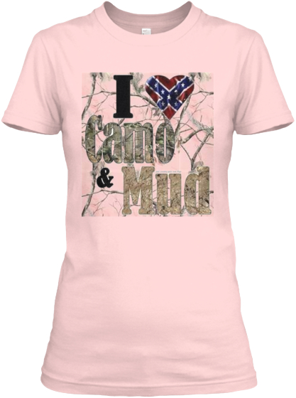 women camo and mud from big country