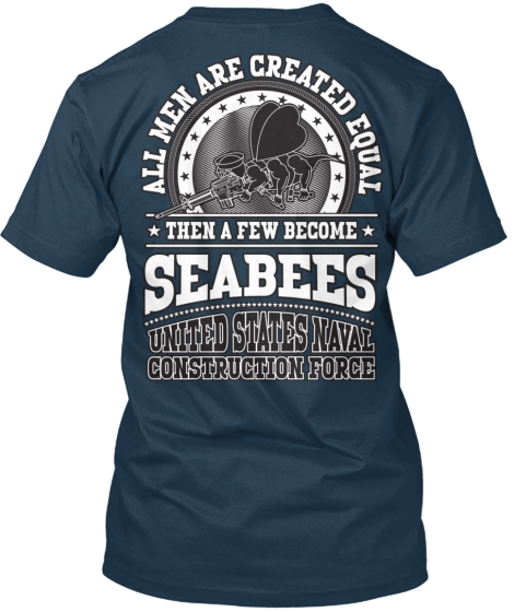 Men Are Created Equal, Except Seabees