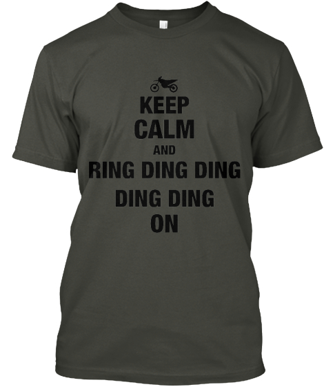 KEEP CALM AND RING DING DING%0ADING DING ON