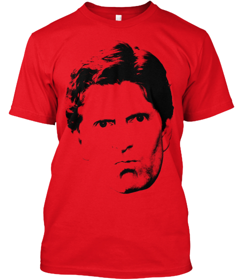 Mike Babcock Face tee