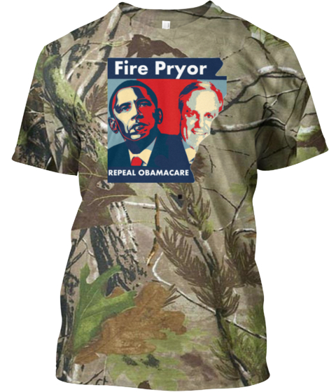 Fire Obama's Pryor-LIMITED EDITION CAMMO