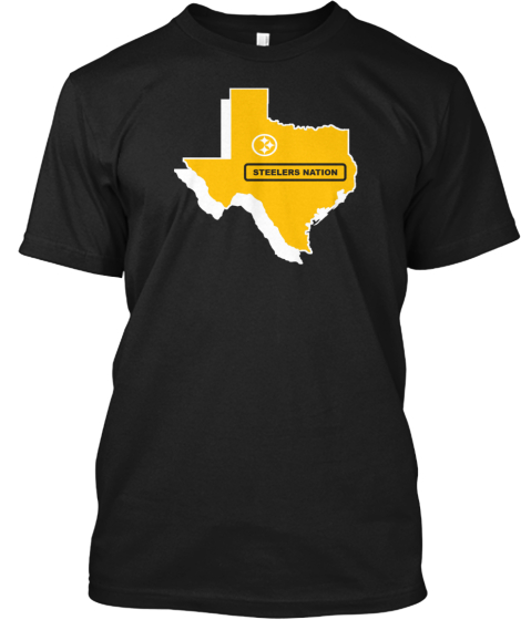 Texas For Steelers T Shirts/Hoodies