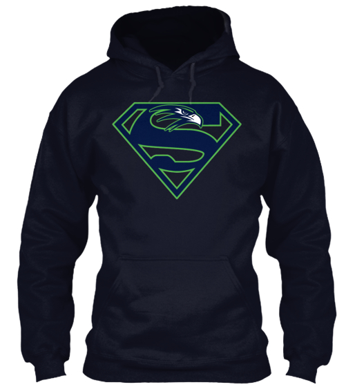 """Limited-Edition - """"Super Seahawk"""" Hoodie"""