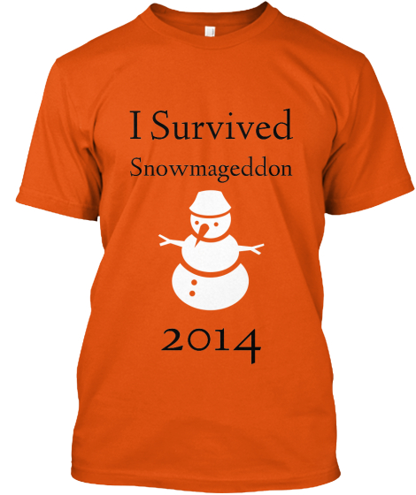 I Survived Snowmageddon 2014