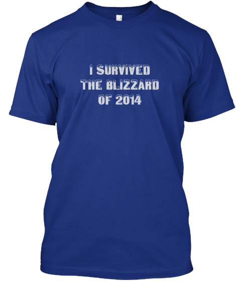 I Survived %0AThe Blizzard %0Aof 2014