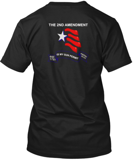 2nd Amendment Is My Gun Permit!!