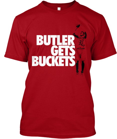 Jimmy Butler Gets Buckets shirt