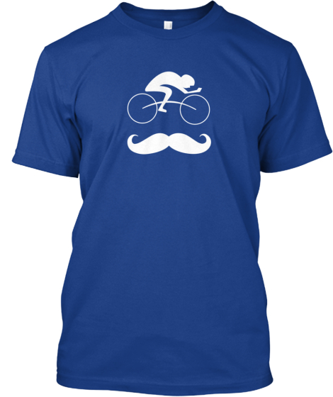 Hip Bicycle Moustache Tee-Shirt!