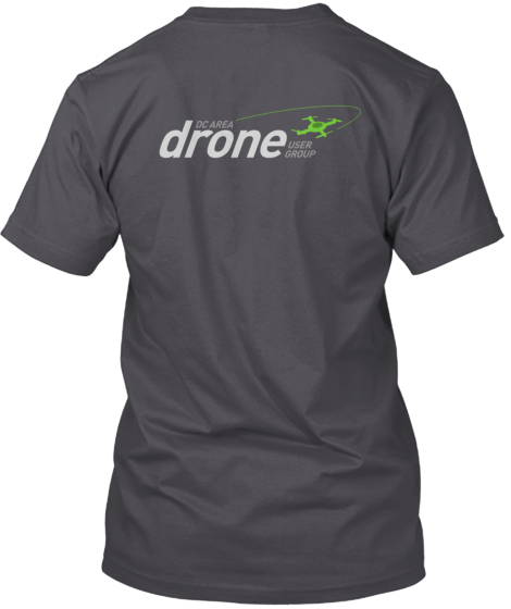 DC Area Drone User Group T-shirts!